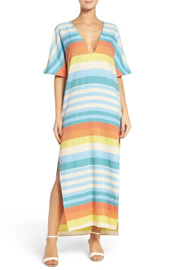 Mara Hoffman Stripe Cover-Up Dress