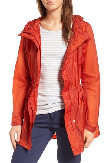 Andrew Marc Teri Translucent Rain Jacket