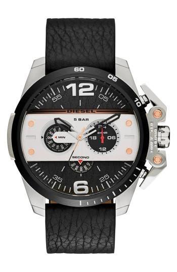DIESEL® 'Ironside' Chronograph Watch, 48mm
