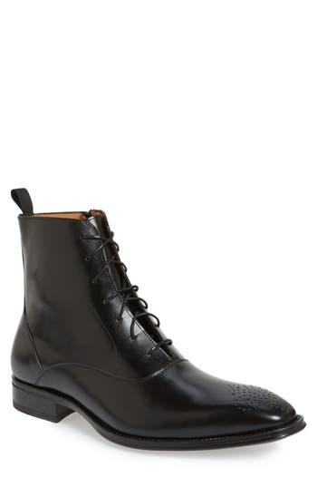 Mezlan 'Tarzo' Medallion Toe Boot (Men)
