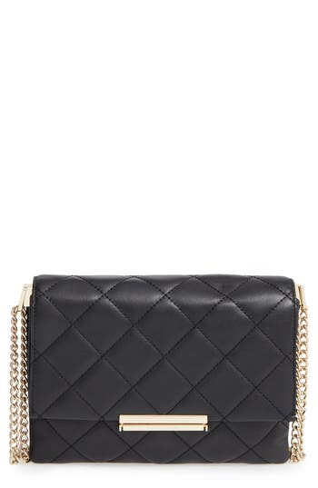 kate spade new york 'emerson place overlay - lenia' leather shoulder bag