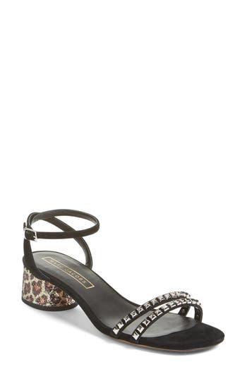 MARC JACOBS 'Olivia' Embellished Ankle Strap Sandal (Women)