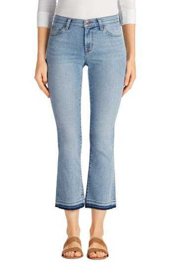 J Brand Selena Crop Bootcut Jeans (Deserted)