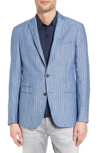 John Varvatos Collection Thompson Linen Sport Coat