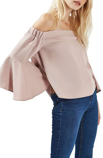 Topshop Ella Off the Shoulder Top