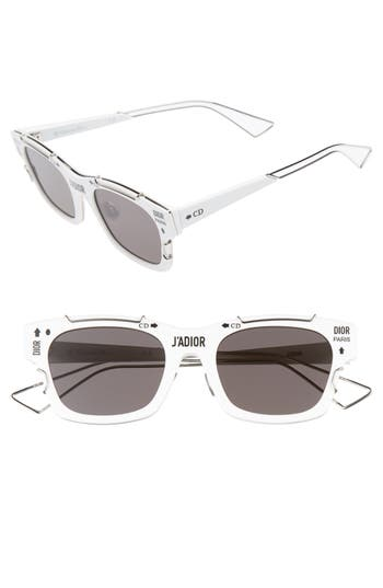 Christian Dior J'Adior 51mm Retro Sunglasses