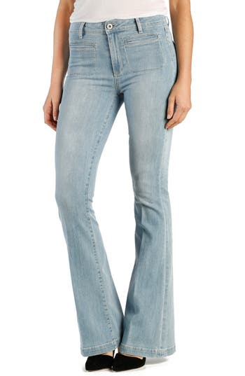 PAIGE Bell Canyon High Waist Flare Jeans (Samira) (Petite)