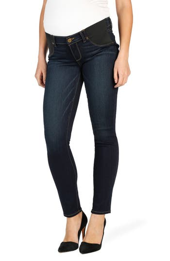 PAIGE 'Transcend - Verdugo' Ultra Skinny Maternity Jeans (Armstrong)