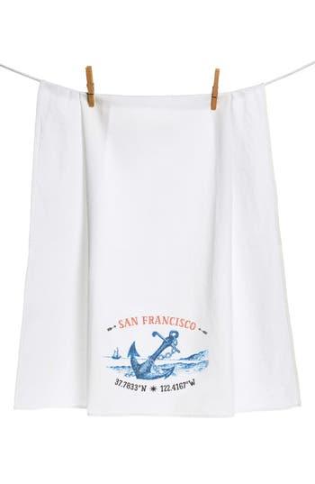 Cameos & Crowns 'City' Flour Sack Towel