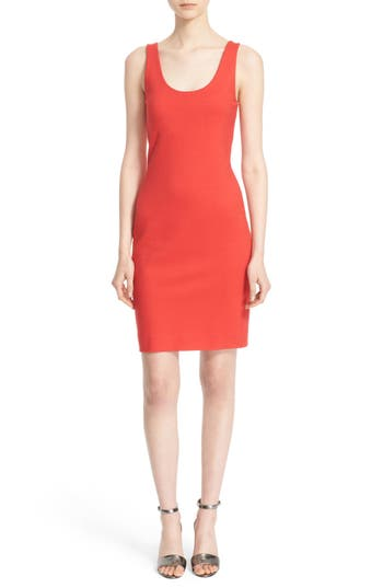 L'AGENCE 'Roxanne' Scoop Neck Tank Dress