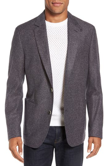 FLYNT Donegal Regular Fit Wool & Silk Sport Coat