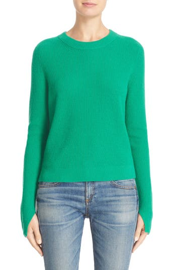 rag & bone 'Valentina' High/Low Cashmere Sweater (Nordstrom Exclusive)