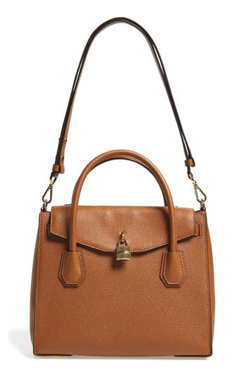 MICHAEL Michael Kors Large Mercer All-in-One Leather Satchel