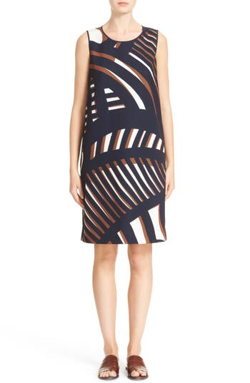Lafayette 148 New York Palmer Print Dress