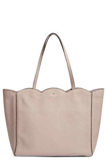 kate spade new york leewood place - rainn leather tote