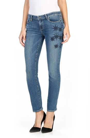 PAIGE Skyline Ankle Peg Skinny Jeans (Indigo Cassiopeia)
