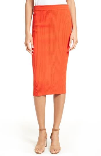 Rebecca Taylor Rib Knit Skirt