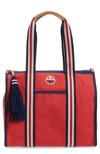 Tory Burch Preppy Canvas Tote