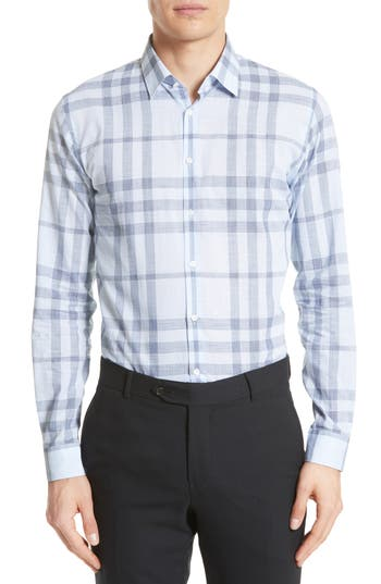 Burberry Whitehead Abzji Check Sport Shirt