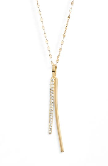 Lana Jewelry 'Elite - Electric Flawless' Bar Pendant Necklace
