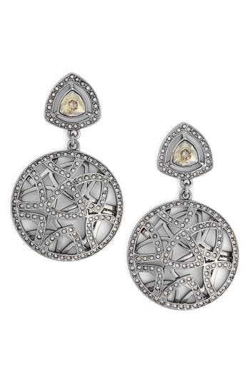 St. John Collection Swarovski Crystal Drop Earring