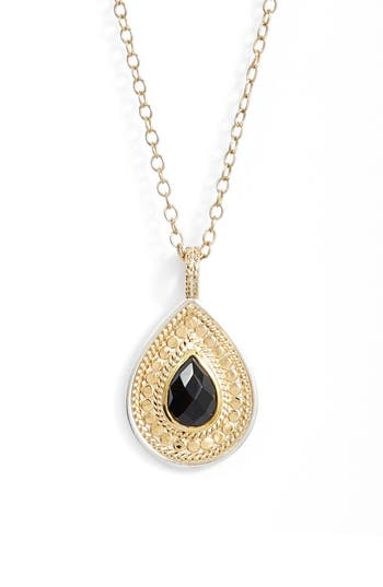 Anna Beck Black Onyx Pendant Necklace