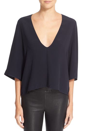 Helmut Lang Drape V-Neck Top