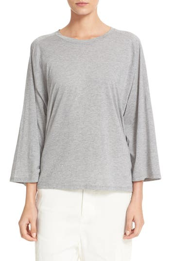 Vince Full Raglan Sleeve Cotton & Cashmere Tee