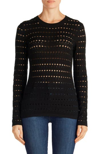 J Brand Colony Open Stitch Sweater