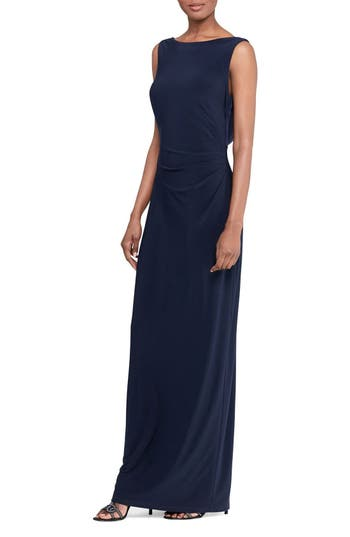 Lauren Ralph Lauren Sequin Back Gown