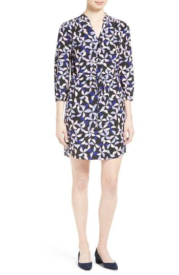 kate spade new york spinner silk shirtdress