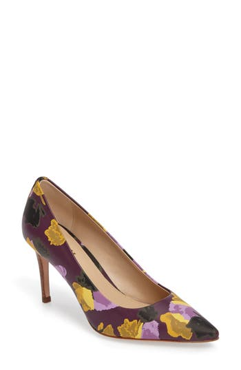 COACH 'Smith' Pointy Toe Pump (Women)