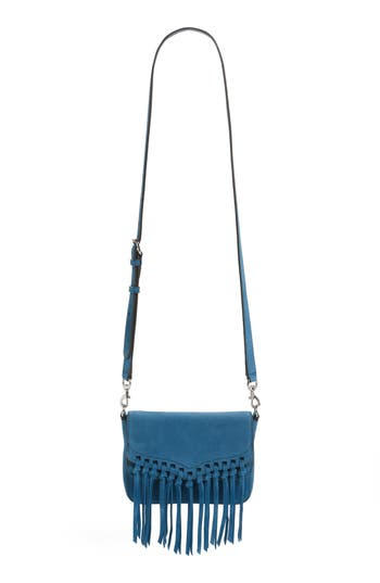 Rebecca Minkoff Small Rapture Suede Shoulder Bag