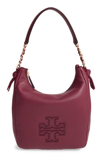 Tory Burch 'Harper' Leather Zip Hobo