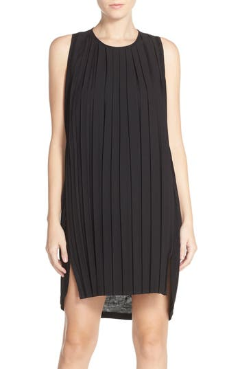 French Connection 'Polly' Pleated Shift Dress