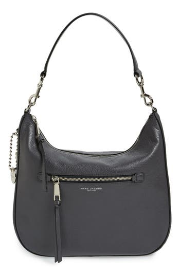 MARC JACOBS Recruit Leather Hobo