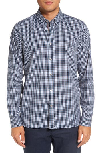 Ted Baker London 'Barcell' Trim Fit Check Cotton Sport Shirt