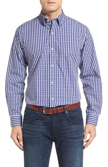 TailorByrd 'Enzo' Extra Trim Fit Dobby Check Sport Shirt