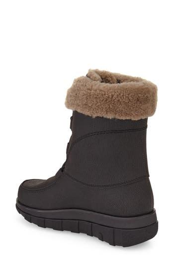FitFlop™ Loaff Waterproof Genuine Shearling Boot (Women)