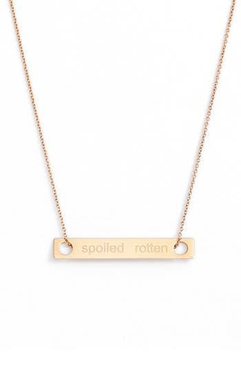 ginette ny Spoiled Rotten Pendant Necklace
