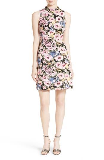Rebecca Taylor Lavinia Rose A-Line Dress