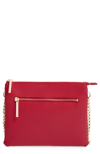 Halogen® Leather Crossbody Bag
