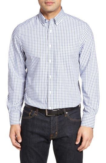 Nordstrom Men's Shop Smartcare™ Classic Fit Check Sport Shirt (Tall)