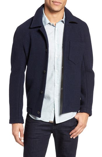 Billy Reid Gunner Wool Jacket
