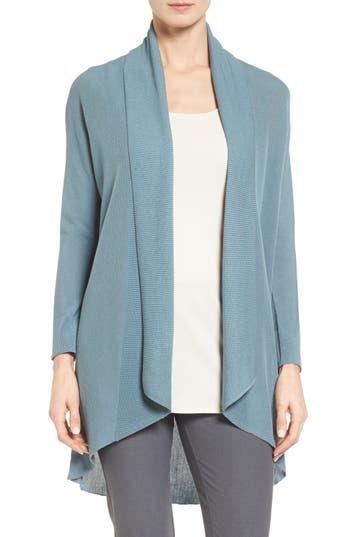 Eileen Fisher Tencel® Drape Front Cardigan