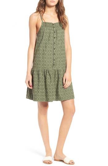 Current/Elliott The Hazel Embroidered Cotton Dress