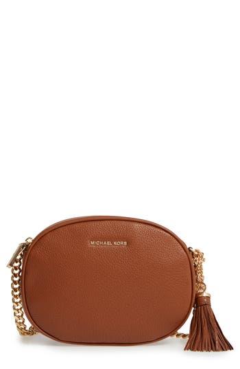 MICHAEL Michael Kors Medium Ginny Leather Crossbody Bag