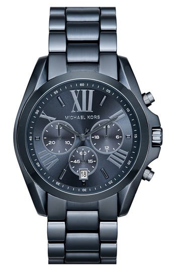 Michael Kors 'Bradshaw' Chronograph Bracelet Watch, 43mm