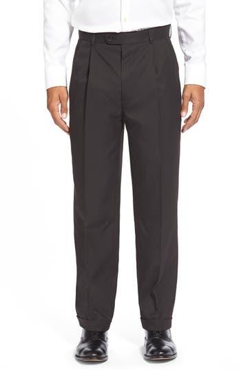 Linea Naturale Washable Pleated Micro Twill Trousers
