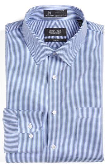 Nordstrom Men's Shop Smartcare™ Trim Fit Stripe Dress Shirt